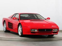 Ferrari 512 TR Testarossa 1992 Coupe red 1